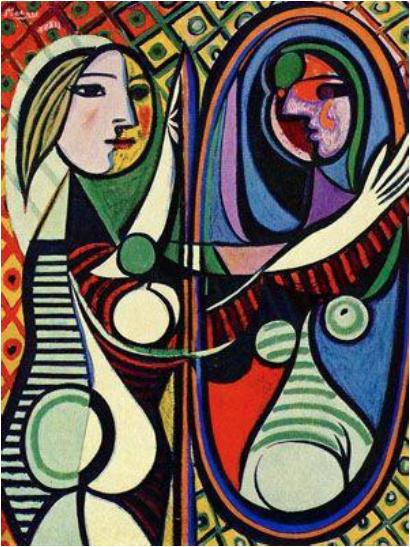 Picasso_1932_Meisje voor de spiegel